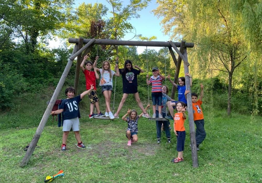 Attività per Bambini nella Natura - Il Bosco Yoga